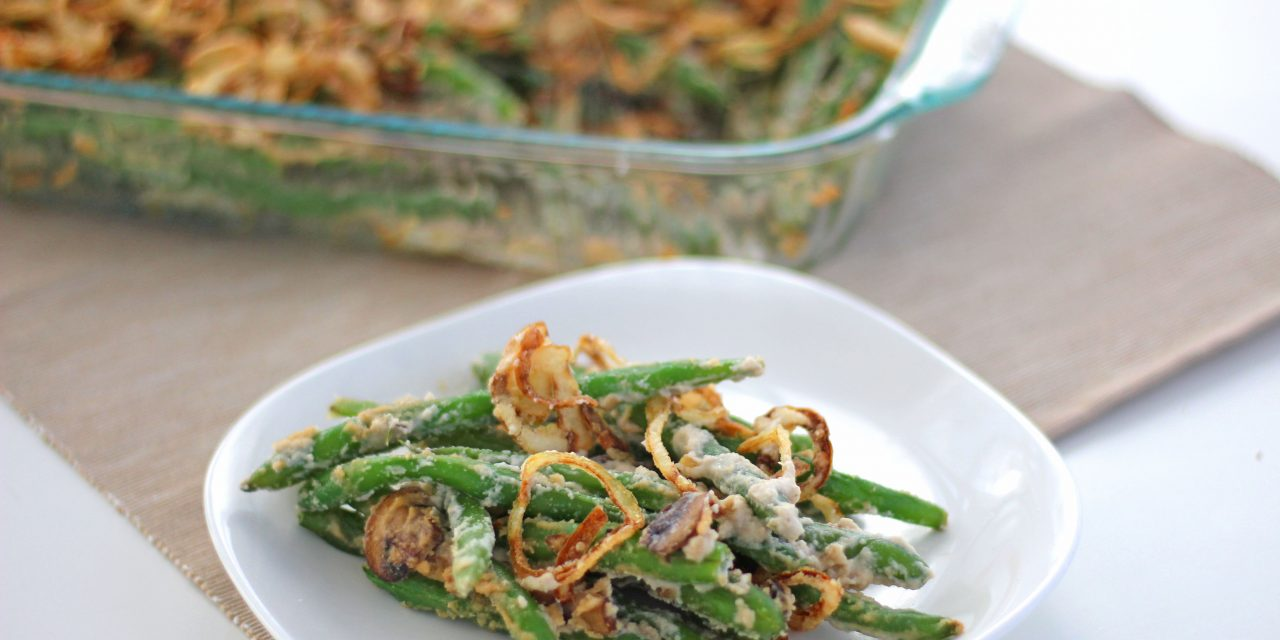 Paleo Green Bean Casserole Recipe