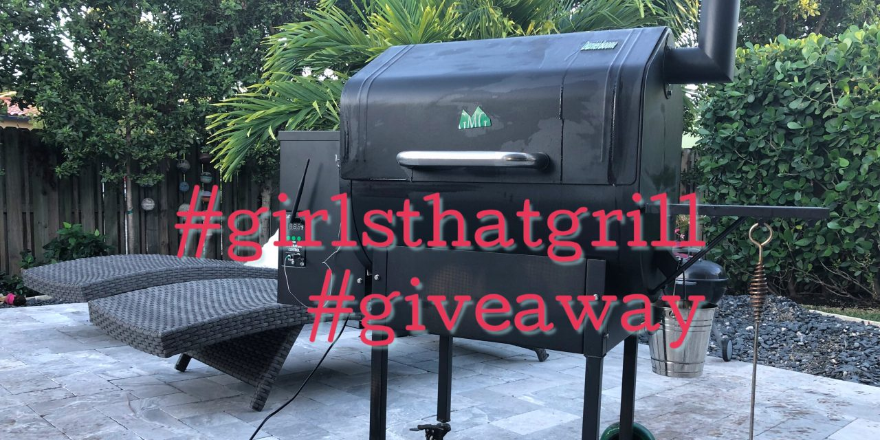 #GirlsThatGrill Green Mountain Grill Daniel Boone Pellet Smoker Giveaway!