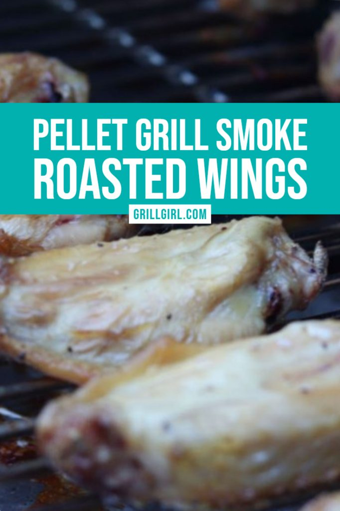pellet grill smoke roasted wings