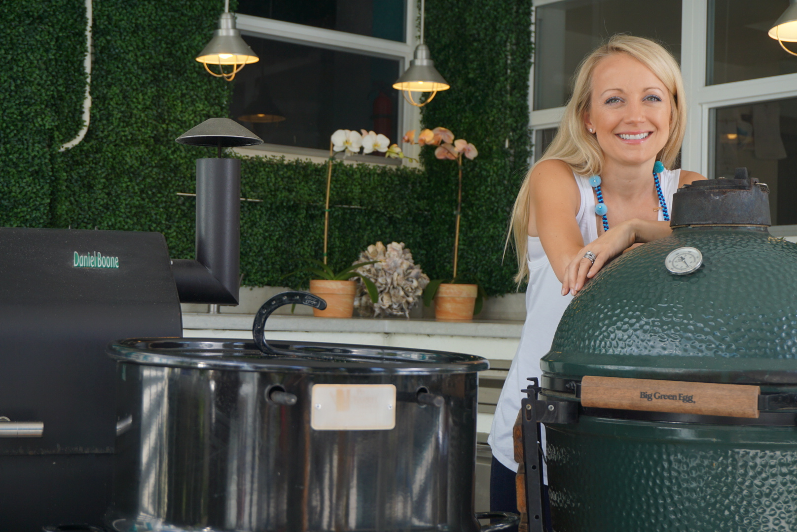 GrillGirl, Robyn Lindars, Green Mountain Grills, BGE, PitBarrel Cooker