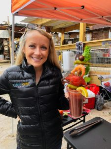GrillGirl Robyn Winning bloody mary recipe