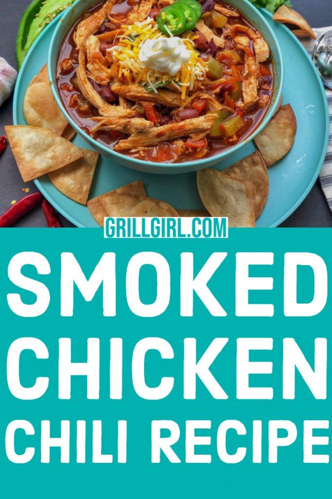 smoked chicken chili