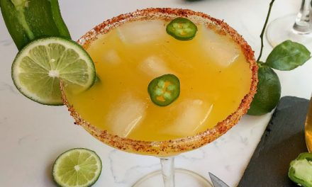 Cinco de Mayo Ideas: Smoked Jalapeño Simple Syrup and the Perfect Smoked Margarita
