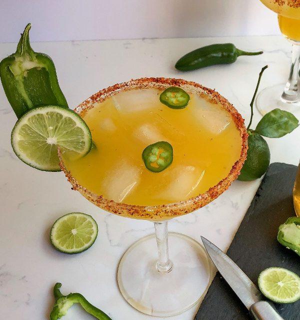 Cinco de Mayo Ideas: Smoked Jalapeño Simple Syrup and the Perfect Smoked Margarita