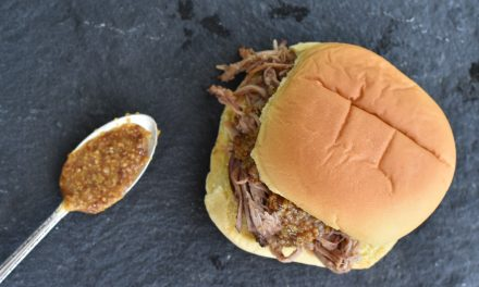 Pulled Pork Sandwiches with Carolina Gold BBQ Sauce