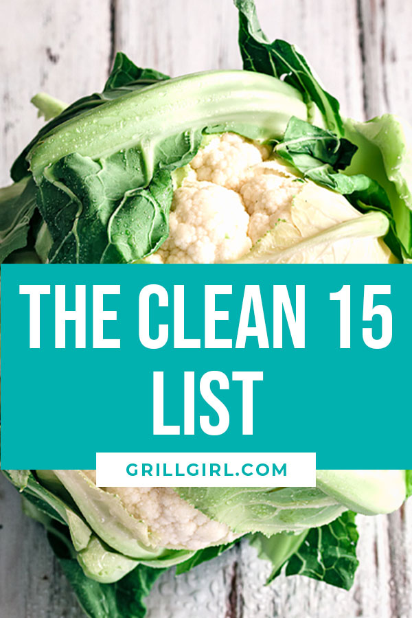 the clean 15 list GrillGirl