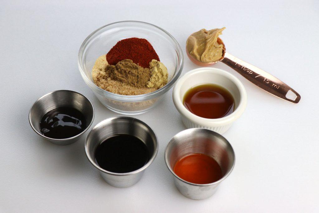 Char Siu sauces