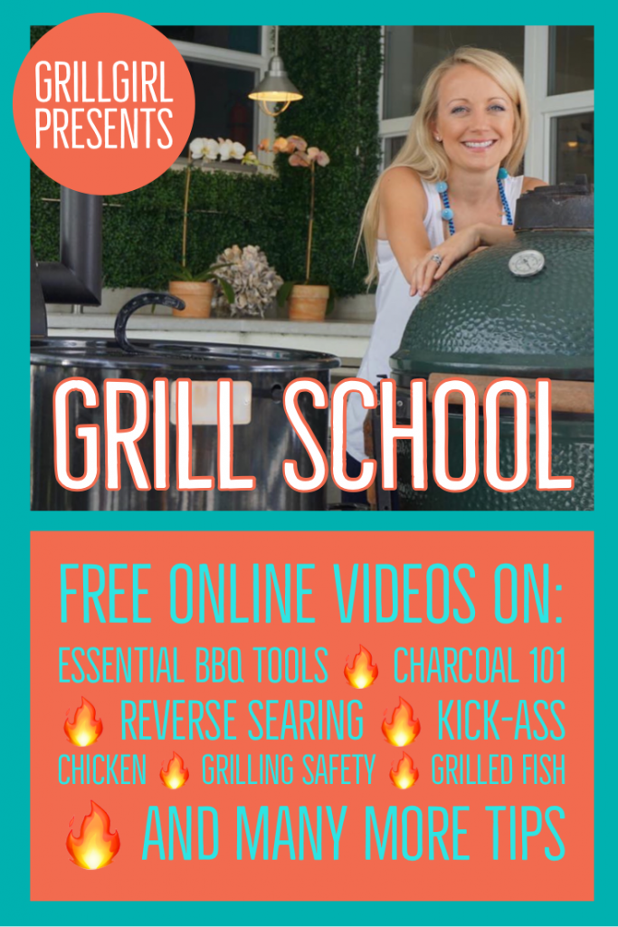 Grill School video series by Grill Girl Robyn