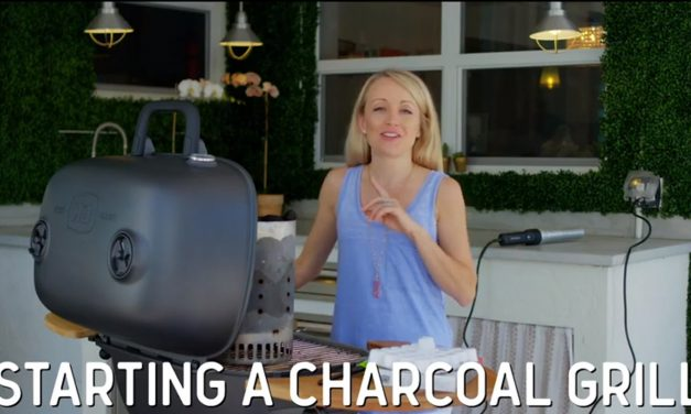 Grill School: How to Start a Charcoal Grill Without Lighter Fluid (VIDEO)
