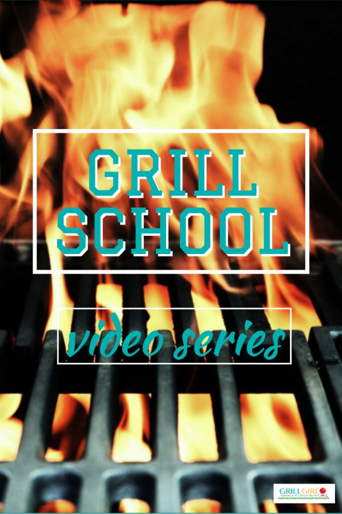 GrillGirl.com, learn to grill, video series title image