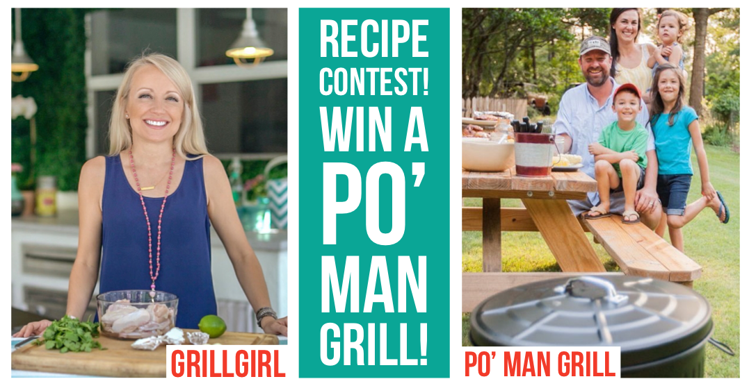 Win a Po' Man Grill in our Recipe Contest!