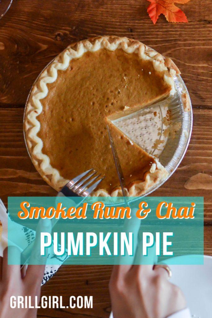 Smoked Pumpkin Pie Recipe