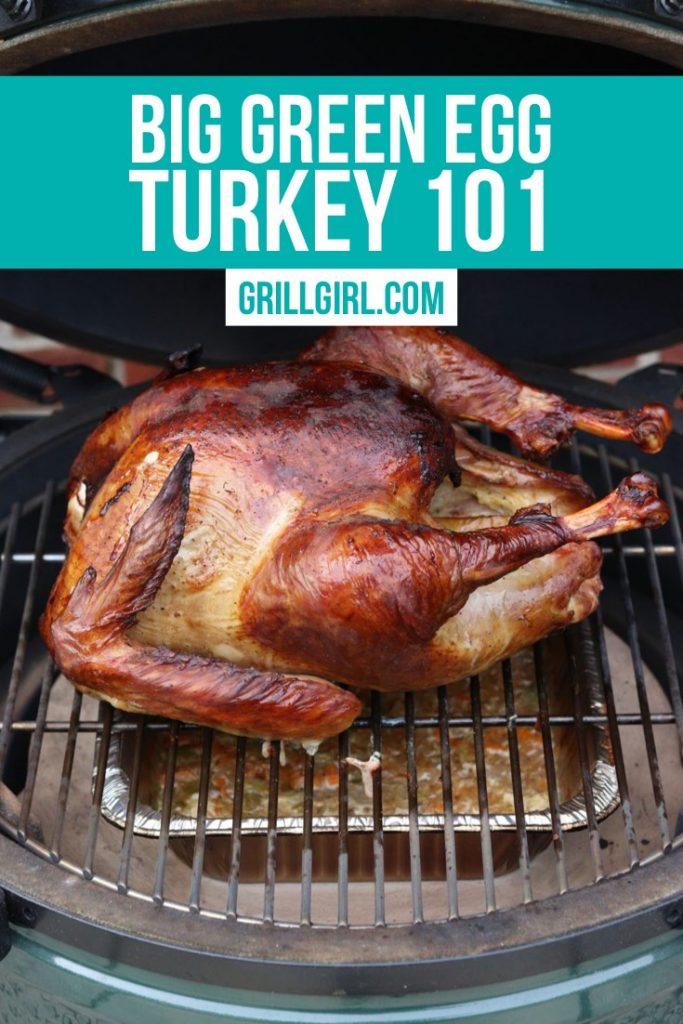 How to smoke turkey on the big green egg
