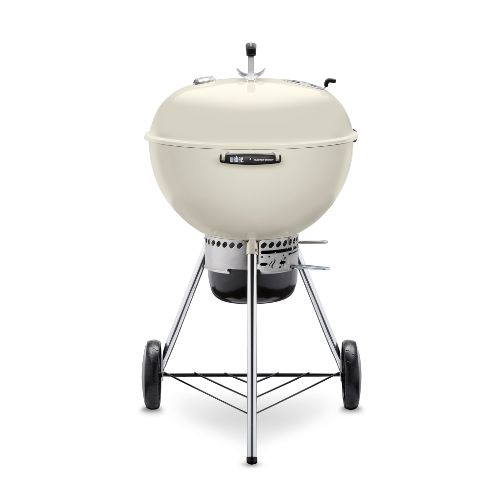 Ivory Weber Master Touch Kettle Grill