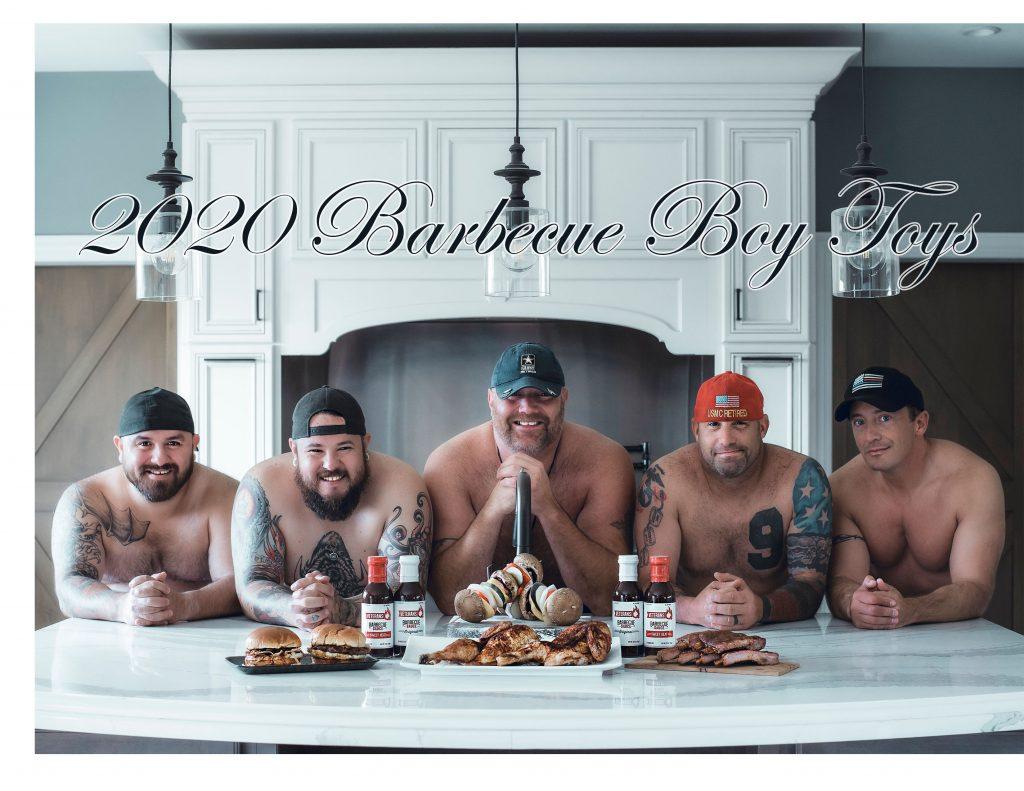 2020 Barbecue Boy Toys Calendar