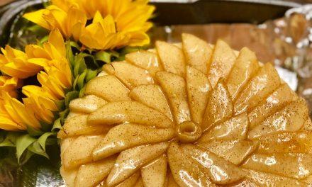 Jackie Milligan's Crown Apple Smoked Cheesecake recipe
