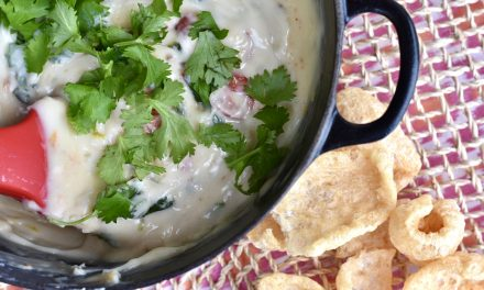 Fire Roasted Poblano Queso Dip