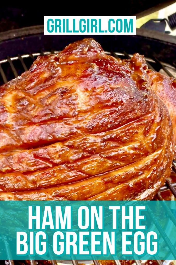 Ham On The Big Green Egg