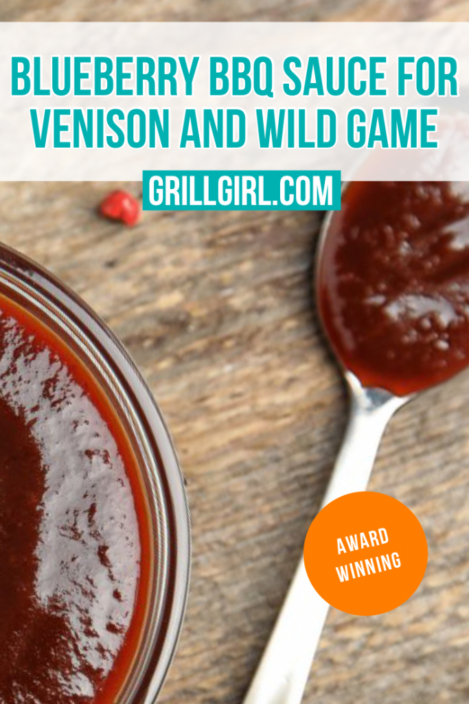 blueberry bbq sauce for wild game