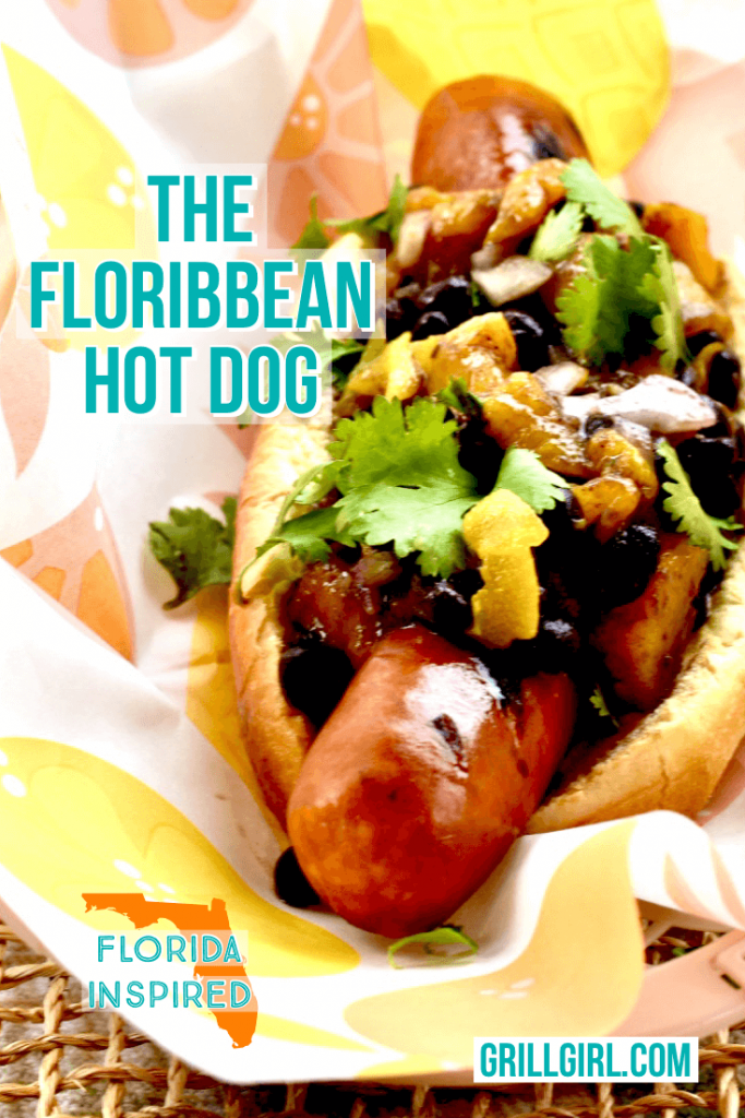 The Floribbean hot dog