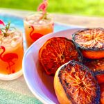 grilled grapefruit paloma