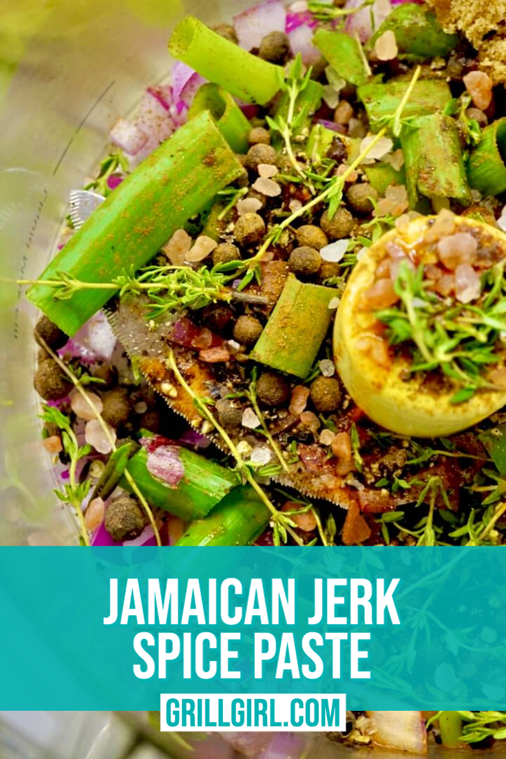 Jamaican Jerk Spice Paste