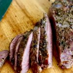 Rosemary Rubbed Smoked Venison