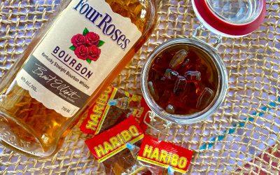 Boozy Bourbon and Coke Gummies