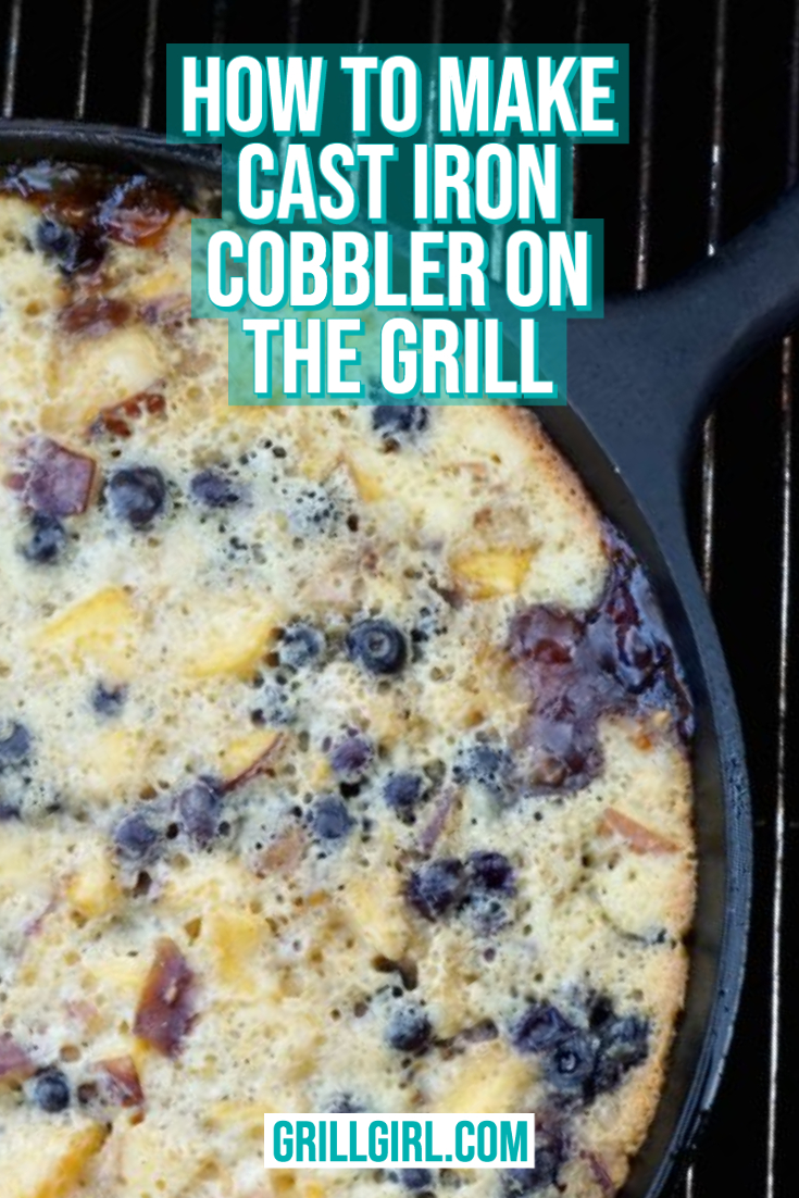Cobbler on the Grill