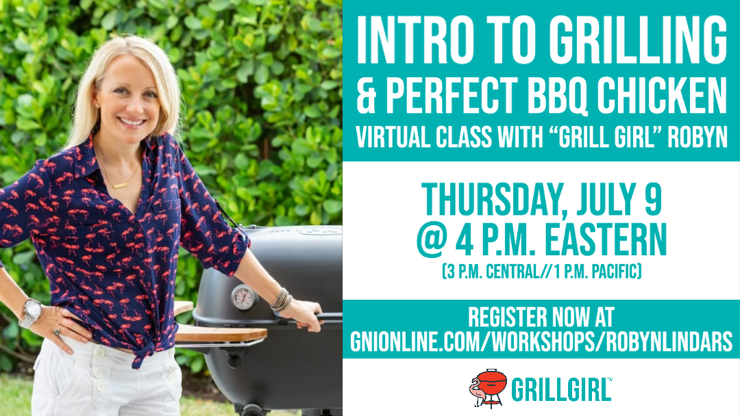 Intro to Grilling Virtual Class