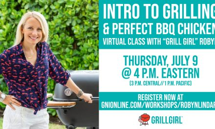 GrillGirl Robyn to Teach Virtual Grilling Class