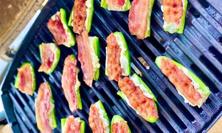 Blue Cheese Jalapeno Poppers