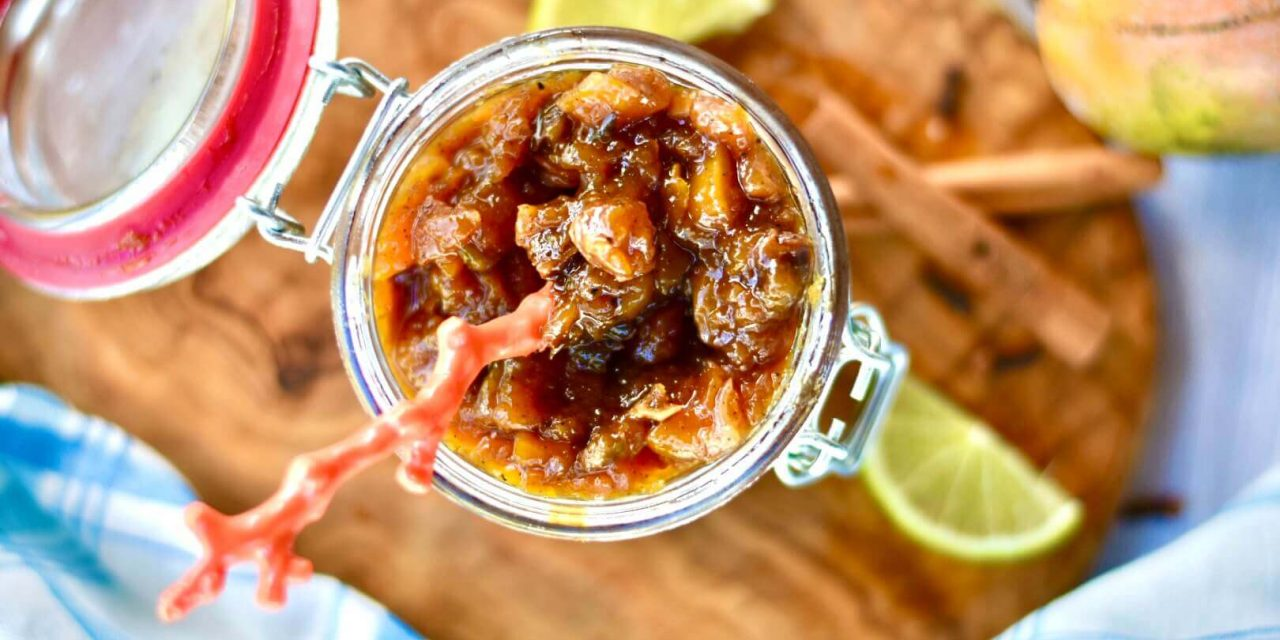 Floribbean Mango Chutney Recipe