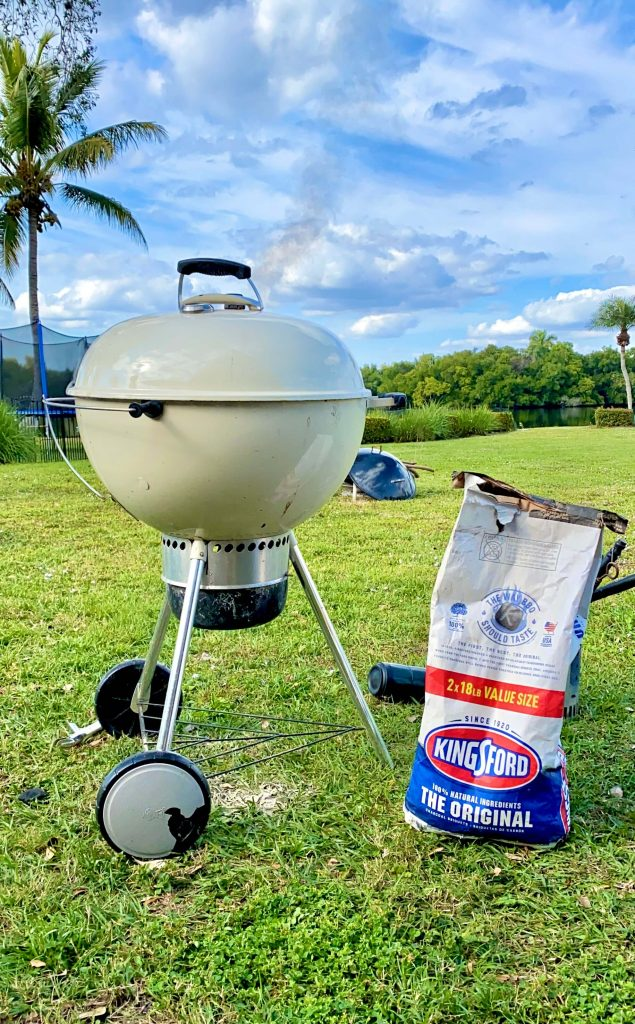 white weber kettle kingsford charcoal