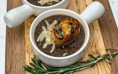 Maddie & Kiki's Applewood Smoked French Onion Soup