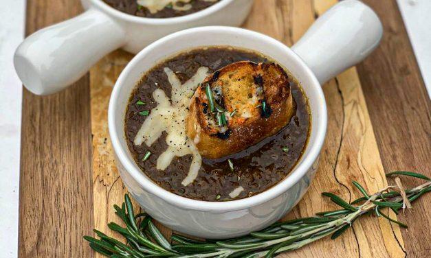 Maddie & Kiki's Applewood Smoked French Onion Soup