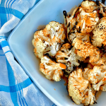 Grilled Buffalo Cauliflower Bites