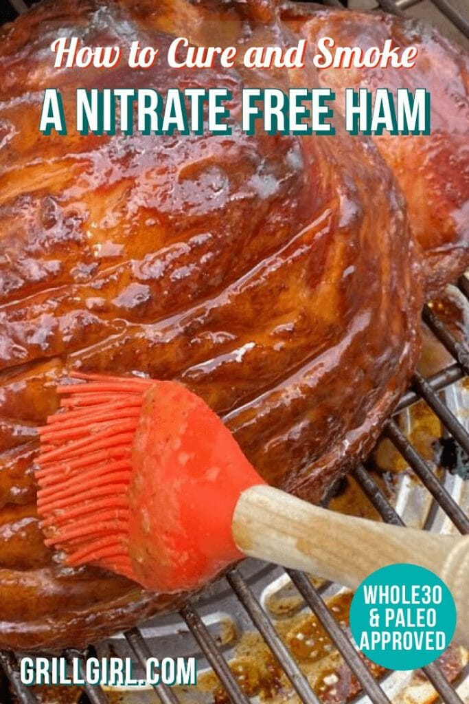 how to smoke a nitrate free ham