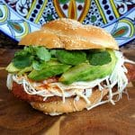 Cemita Poblana With Pork Panko