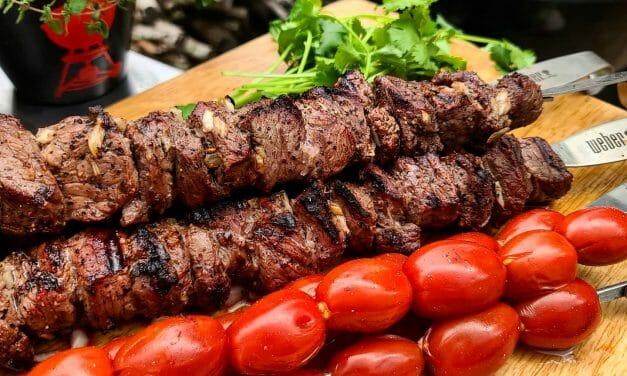 Sheila Martinez' Chenjeh Kebabs (Chunk Beef Kebabs)