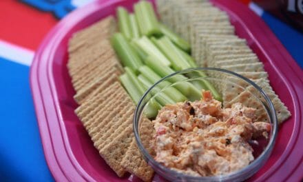 Grilled Red Pepper Pimento Cheese