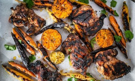 Grilled Mojo Chicken Thighs