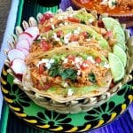 BBQ Style Chicken Tinga for Cinco de Mayo