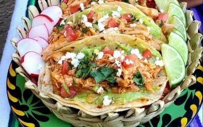 BBQ Style Chicken Tinga for Cinco de Mayo