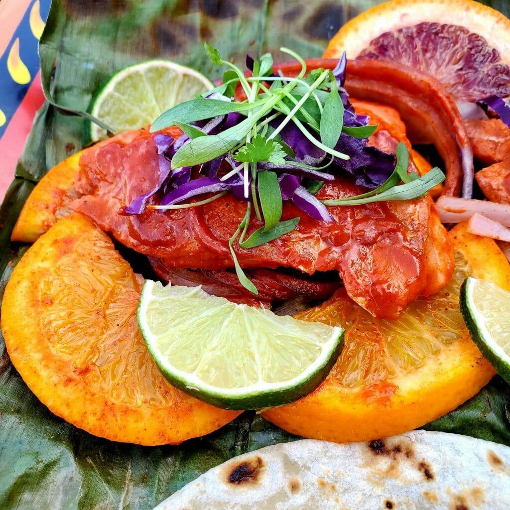 grilled fish tikin xic
