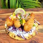 Sunshine State Shrimp Taco (With Robyn's Sunshine State of Mind Rub!)