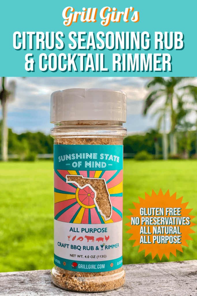 Sunshine State of Mind Craft BBQ Rub and Cocktail Rimmer