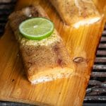 Cedar Planked Mahi Mahi with Coconut Lime Butter