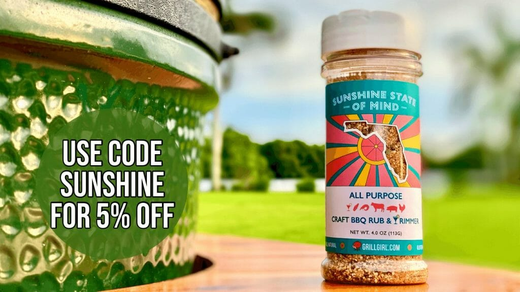 Sunshine State of Mind BBQ Rub