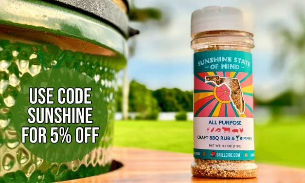 Introducing Sunshine State of Mind Craft BBQ Rub and Cocktail Rimmer